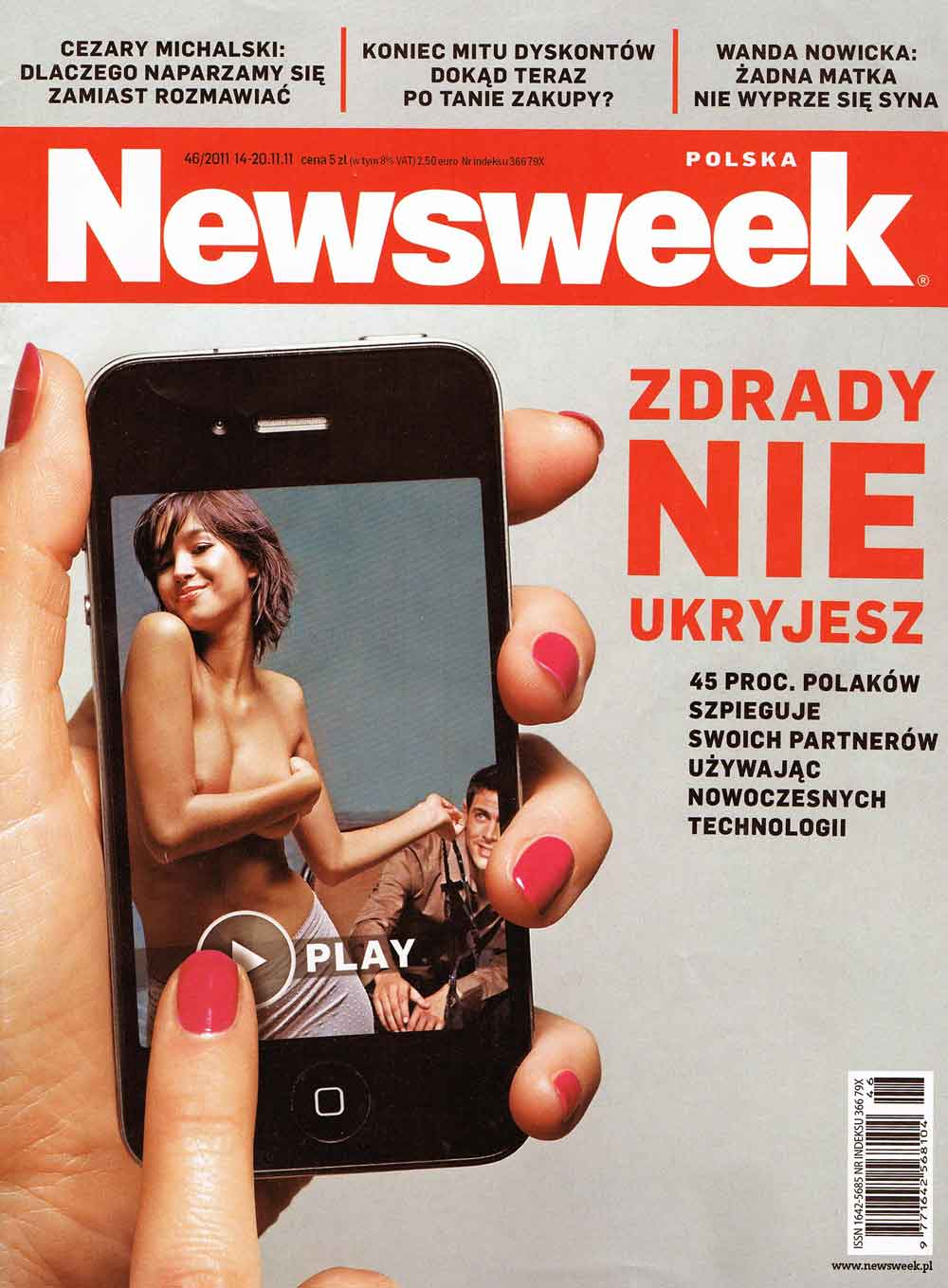 Strona tytułowa Newsweek Polska
